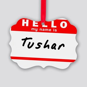 Tushar Picture Ornament