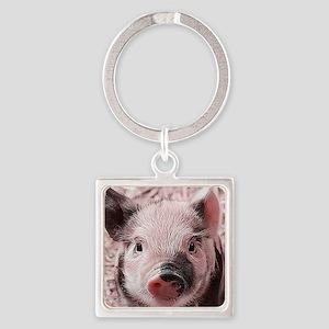 sweet piglet, pink Keychains
