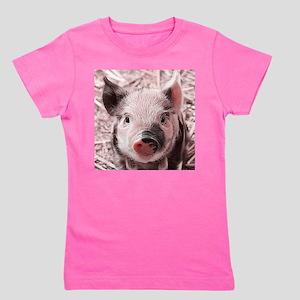 sweet piglet, pink Girl's Tee