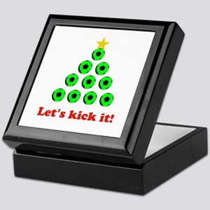 Xmas Tree - Green Keepsake Box