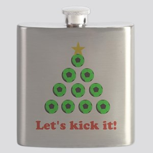 Xmas Tree - Green Flask