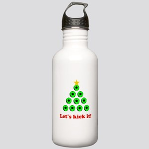 Xmas Tree - Green Sports Water Bottle