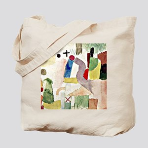 Klee: Pathetic Watercolor, Paul Klee artw Tote Bag