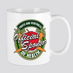Fruits and Veggies Sponsor of Health Mug