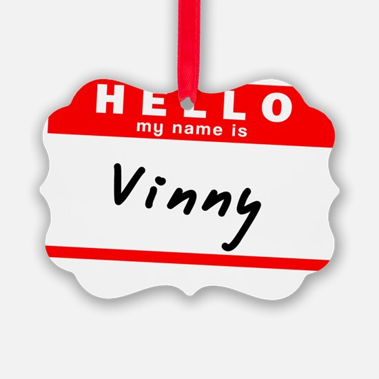 Vinny Ornament