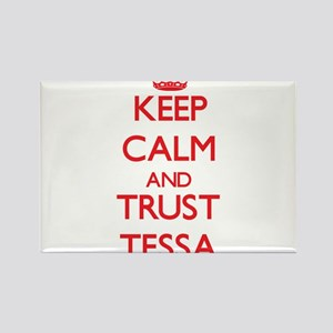 Keep Calm and TRUST Tessa Magnets