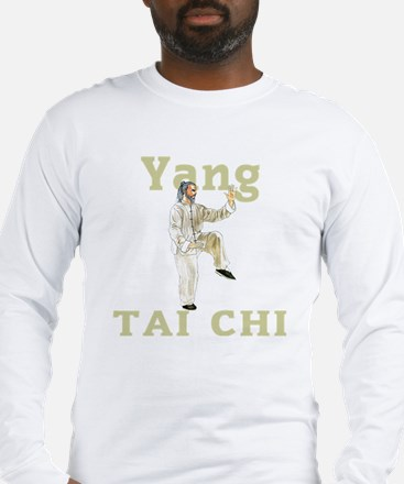 YangGoldencockDark Long Sleeve T-Shirt