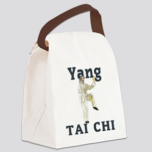 YangGoldencockLight Canvas Lunch Bag