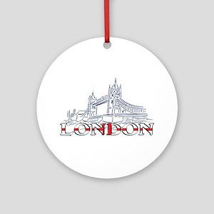 London: Tower Bridge Ornament (Round)