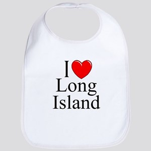 """I Love Long Island"" Bib"