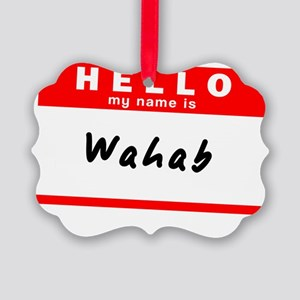 Wahab Picture Ornament