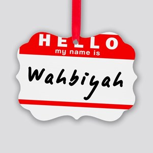 Wahbiyah Picture Ornament