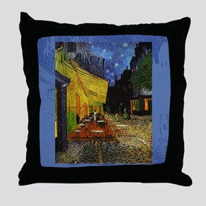 CafeTerraceSC1 Throw Pillow