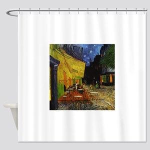 CafeTerraceOriginal1 Shower Curtain