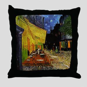 CafeTerraceOriginal1 Throw Pillow