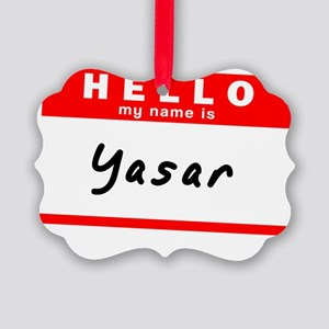 Yasar Picture Ornament