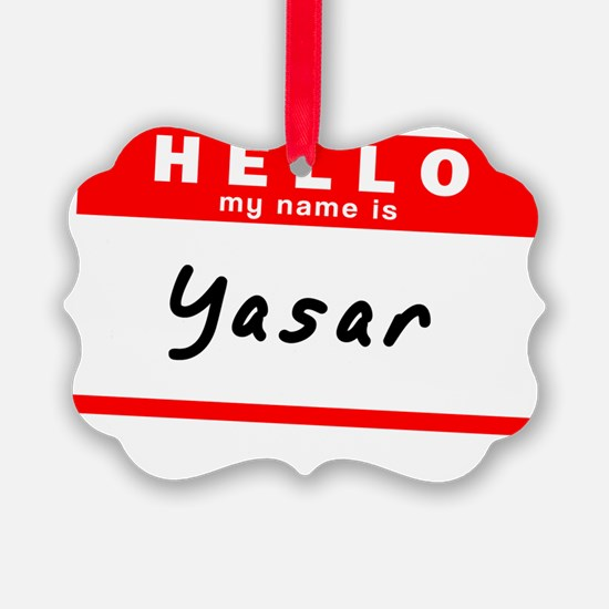 Yasar Ornament