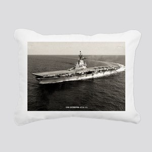 intrepid cva large frame Rectangular Canvas Pillow