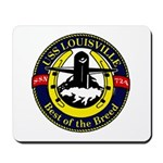 USS LOUISVILLE Mousepad