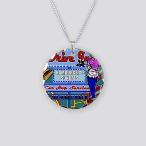 AT-THE-DRIVE-IN-temp_shower_ Necklace Circle Charm