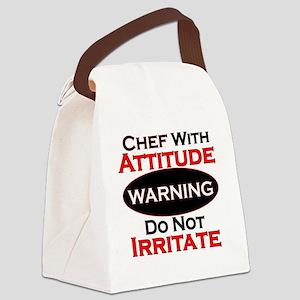 Attitude Chef Canvas Lunch Bag