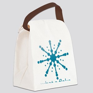 What a flake Canvas Lunch Bag