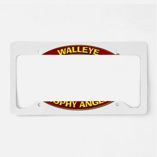 Walleye License Plate Holder