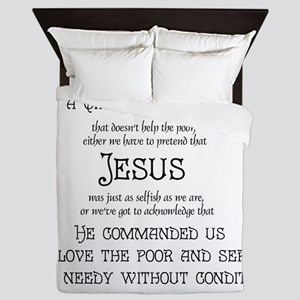 Christian Nation Queen Duvet