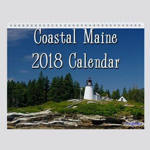 Coastal Maine 2018 Wall Calendar