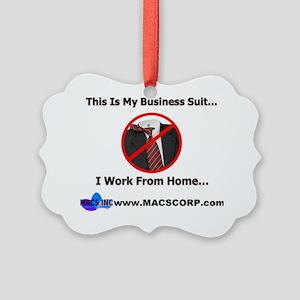 business suit Picture Ornament