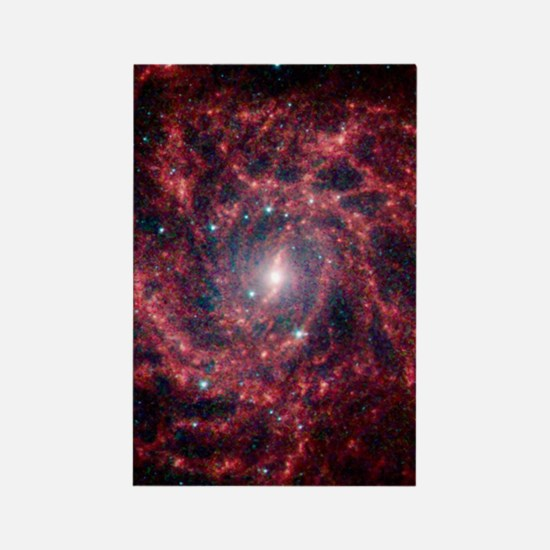 Galaxy IC 342 Rectangle Magnet
