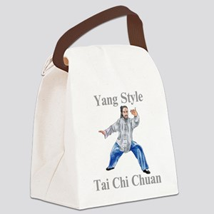 yangstylepartingLight Canvas Lunch Bag
