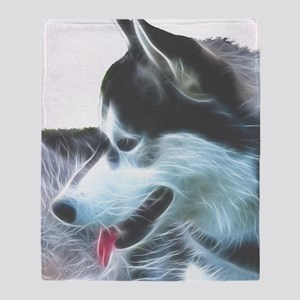 posthusky Throw Blanket