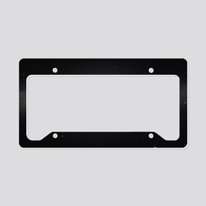 The UFO Galaxy License Plate Holder