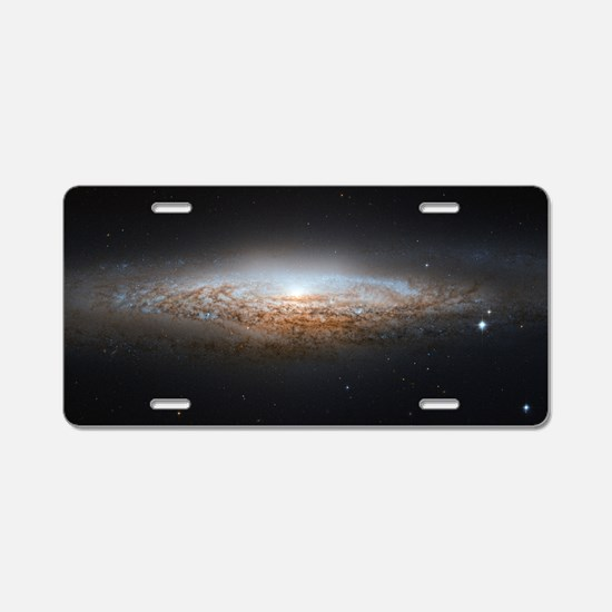 The UFO Galaxy Aluminum License Plate