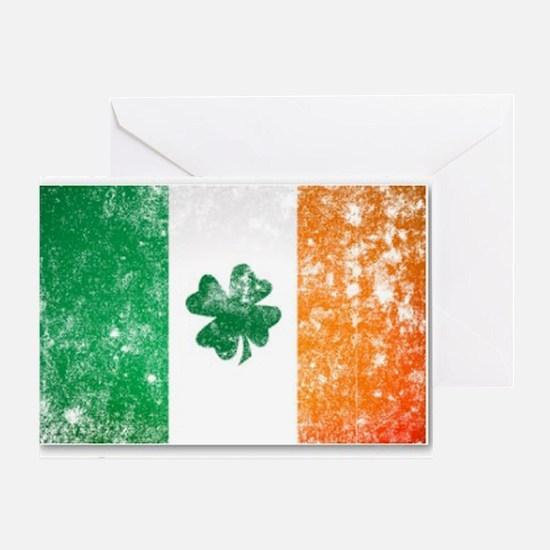 america - irish parts Greeting Card