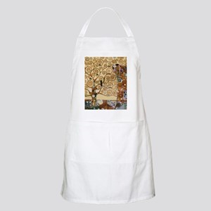 Gustav Klimt Tree Of Life Apron