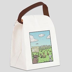 Bonehenge Canvas Lunch Bag