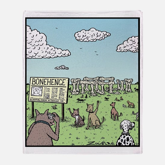 Bonehenge Throw Blanket