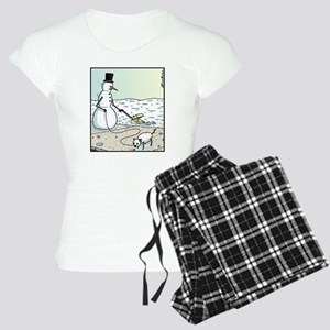 Snow Dog Doo-doo Women's Light Pajamas