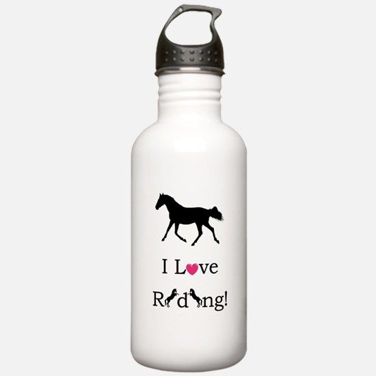 i_love_riding2 Water Bottle