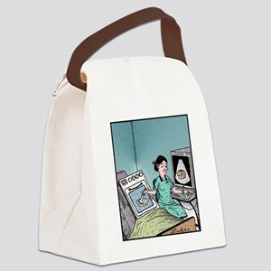 Bun in the Oven Ultrasound Canvas Lunch Bag
