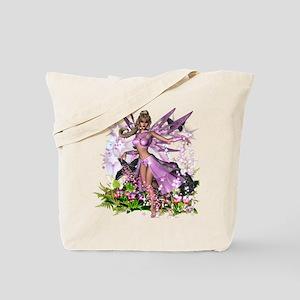 Pretty Pink Fairy Tote Bag