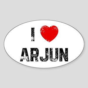 I * Arjun Oval Sticker