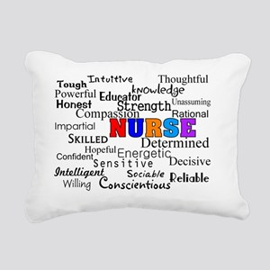 NURSE Rectangular Canvas Pillow
