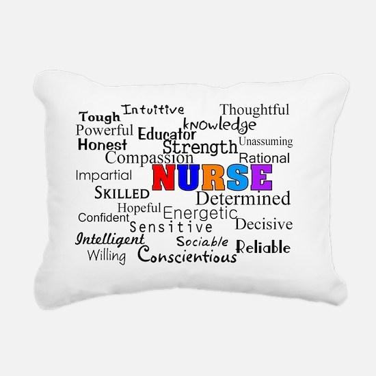 NURSE Rectangular Canvas Pillow