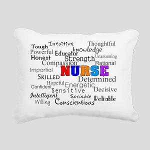 NURSE Describing words Rectangular Canvas Pillow