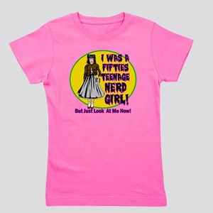 I-WAS-A-50S-TEENAGE-NERD-GIRL Girl's Tee