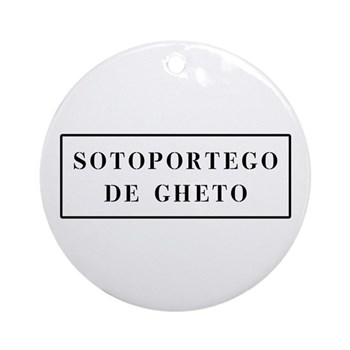 Sotoportego de Gheto, Venice (IT) Ornament (Round)