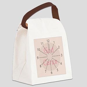 Clock Ten C BB Canvas Lunch Bag